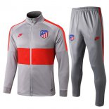 Survetement Atletico Madrid 2019-2020 Gris Rouge