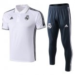 Polo Ensemble Complet Real Madrid 2019-2020 Blanc