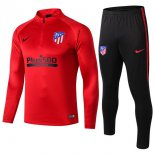 Survetement Atletico Madrid 2019-2020 Rouge Noir