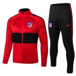 Survetement Enfant Atletico Madrid 2019-2020 Noir Rouge Bleu