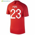 Maillot Angleterre Exterieur Pope 2018 Rouge