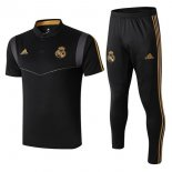 Polo Ensemble Complet Real Madrid 2019-2020 Negro Gris