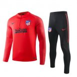 Survetement Enfant Atletico Madrid 2019-2020 Rouge Noir Bleu